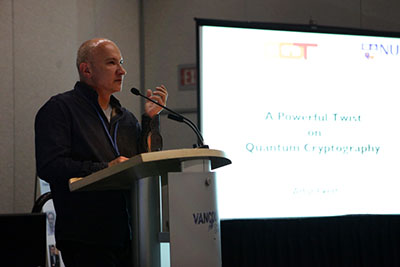 Artur Ekert presenting at the AAAS, February 2012