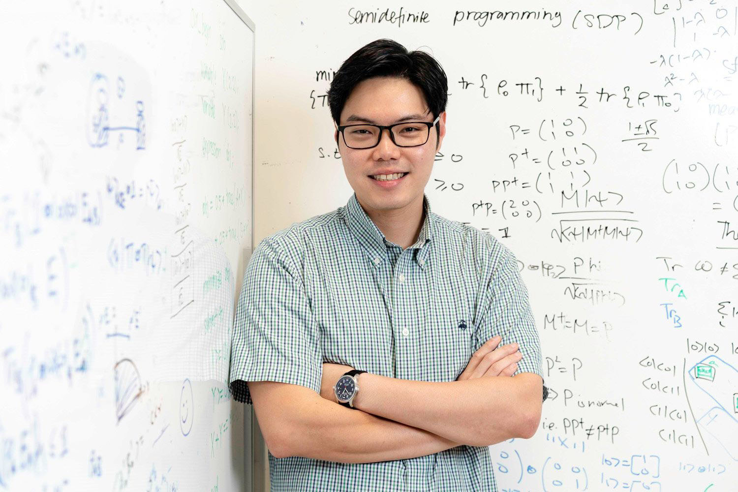 Charles Lim against equations