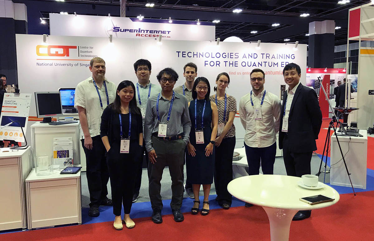 The Centre for Quantum Technologies, NUS, at GovWare 2017