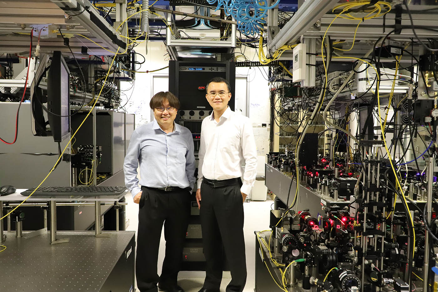 Codirectors of the Singapore Quantum Engineering Programme