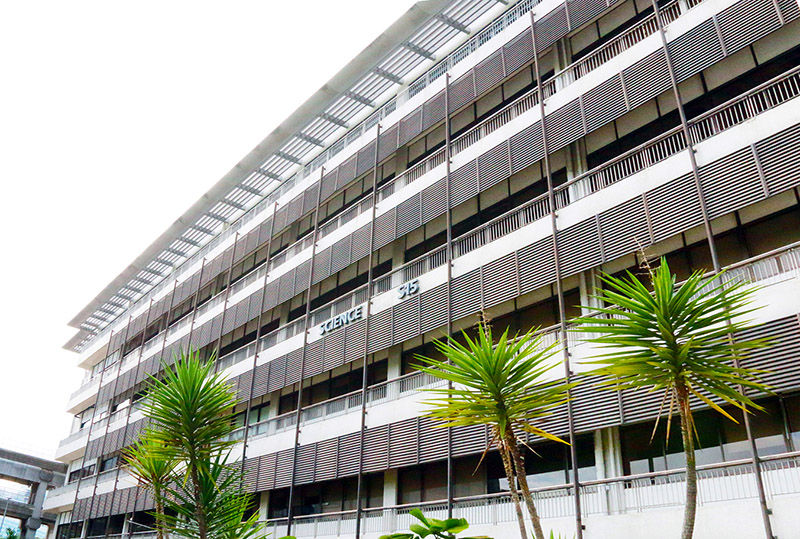 Picture of CQT building on the NUS campus