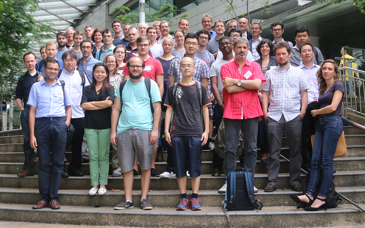 Attendees of the Quantum Engineering Science and Technologies Symposium (QuESTS) in Singapore 2016.