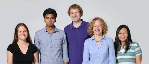 Stephanie Wehner's group at the Centre for Quantum Technologies in Singapore, 2011.