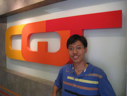 Photograph of CQT PhD student Le Phuc Thinh.