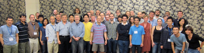 Delegates of the Workshop on Quantum Tomography 2011 at CQT.